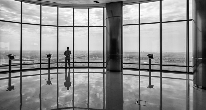 Image of Burj Khalifa viewing deck