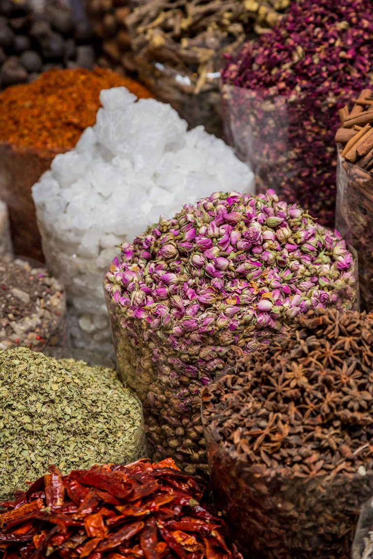 Spices in the Dubai Spice Market