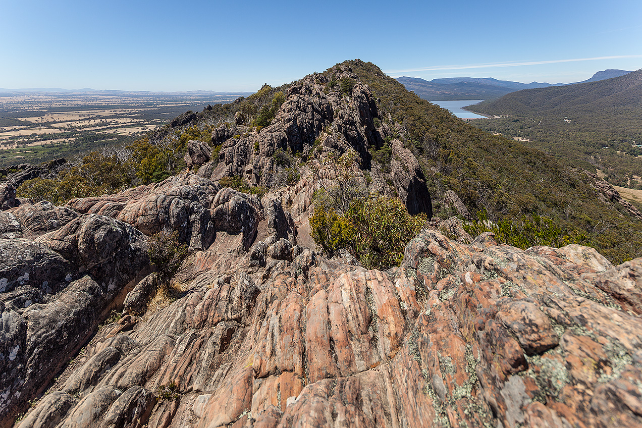 Landscape view of the Grampians, Victoria