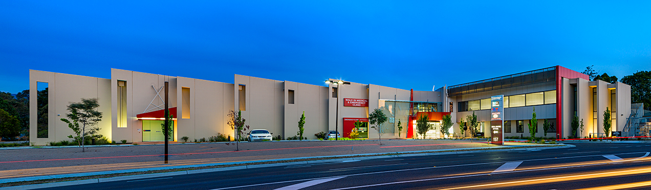 Image of Melbourne Eastern Healthcare Village building