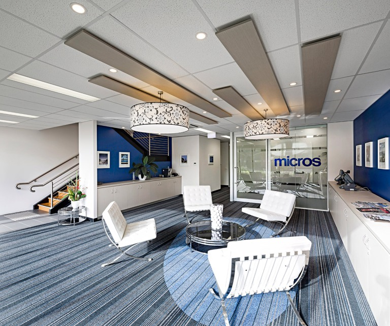 Image of Micros reception area