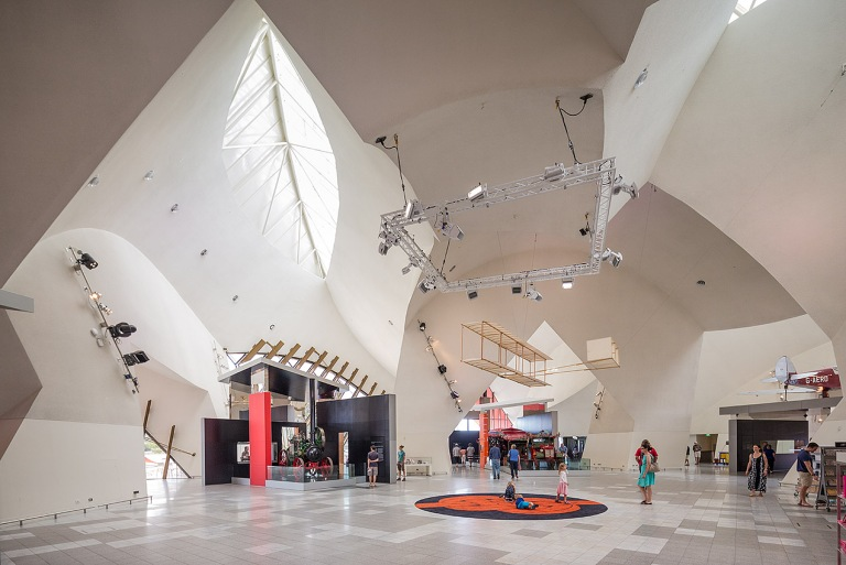Image of the foyer at the National Museum of Australia