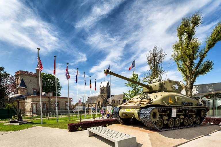 The Airborne Museum (Musée Airborne) is a museum in Sainte-Mère-Église, La Manche, France
