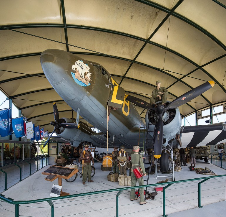 C-47 in the Airborne Museum (Musée Airborne) is a museum in Sainte-Mère-Église, La Manche, France