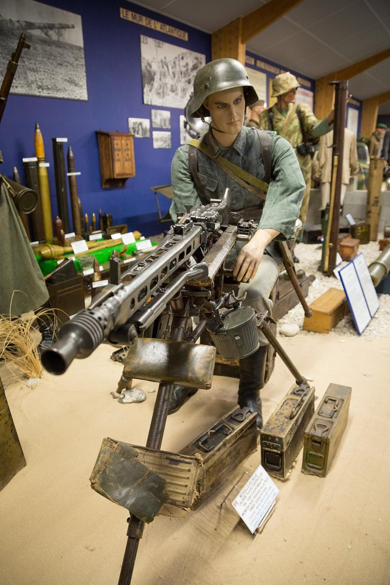 German MG42 machine gun