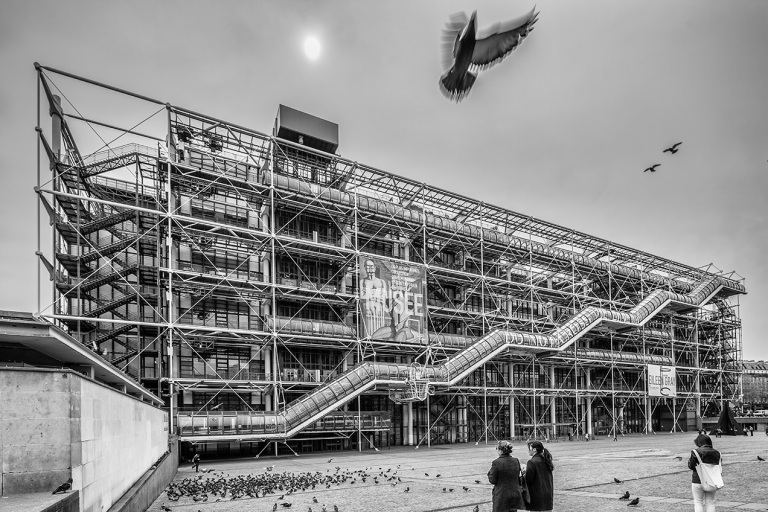 Image of the Pompidou Centre