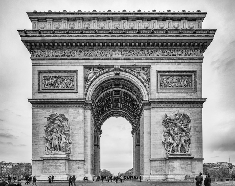 Image of the arc de triomphe