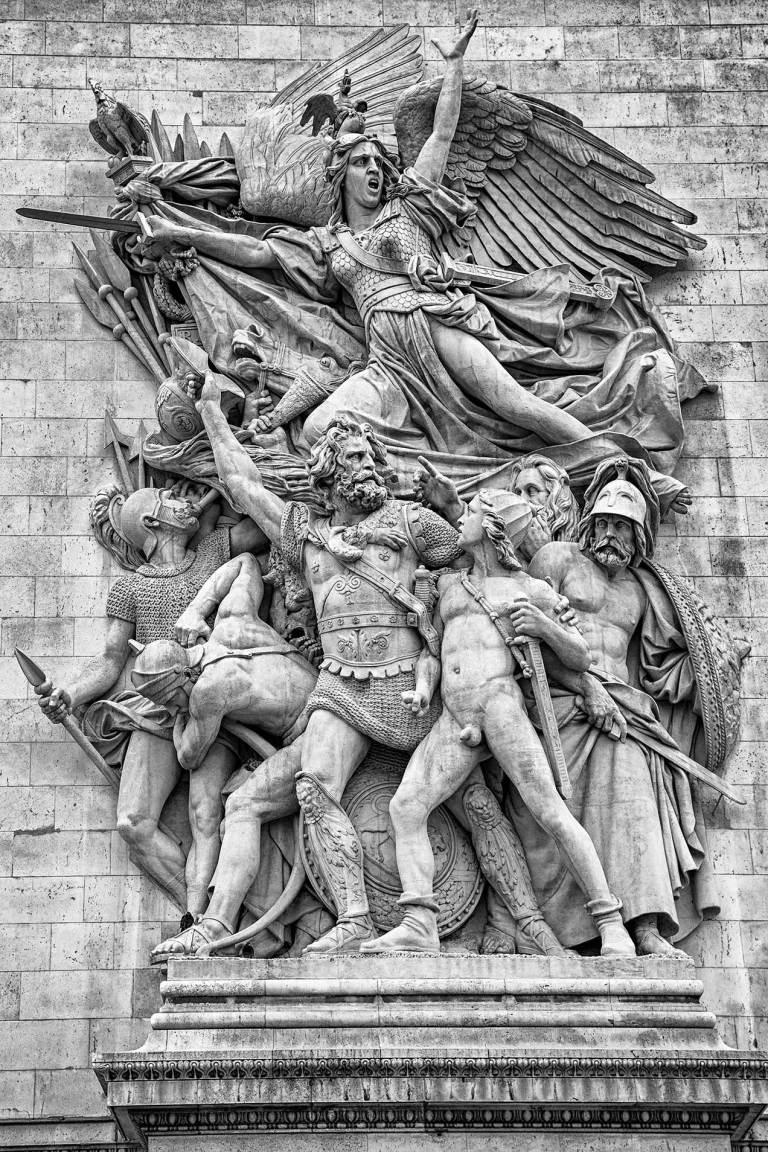 Image of the arc de triomphe