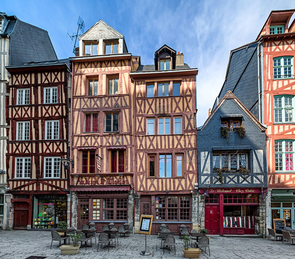 Image of a Rouen street