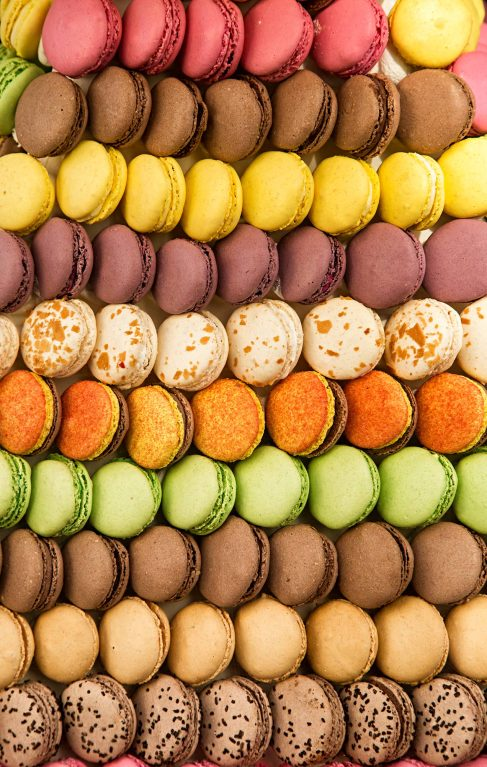 Image of macaroons in Rouen France