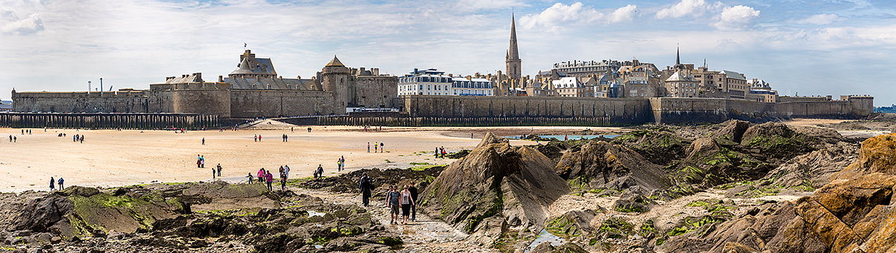 St Malo from Fort National