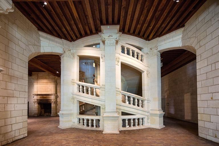 Double Helix staircase, Chateau de Chambord