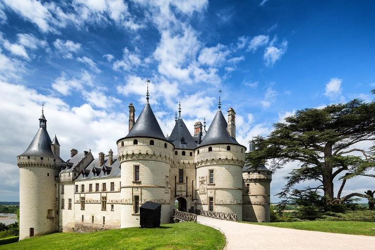 The Château de Chaumont in Chaumont-sur-Loire, Loir-et-Cher, France