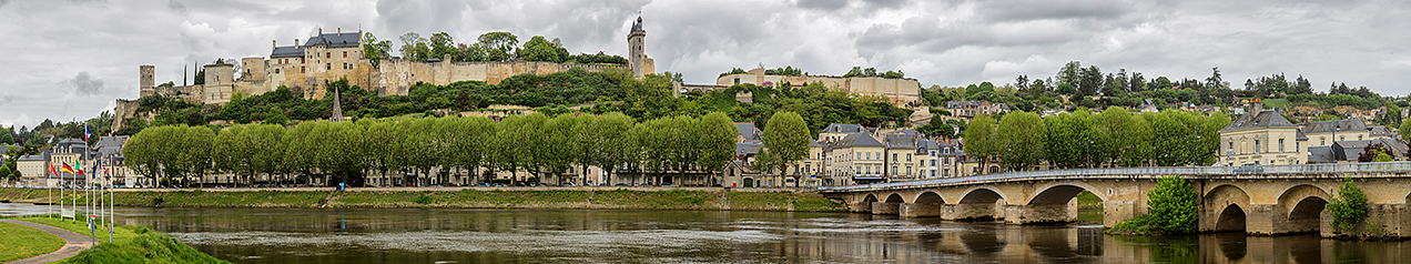 Chinon, a commune in the Indre-et-Loire department in central France