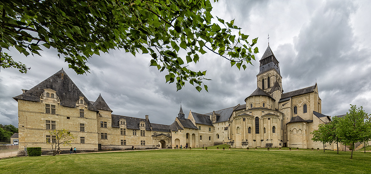 Fontevraud Abbey, Anjou
