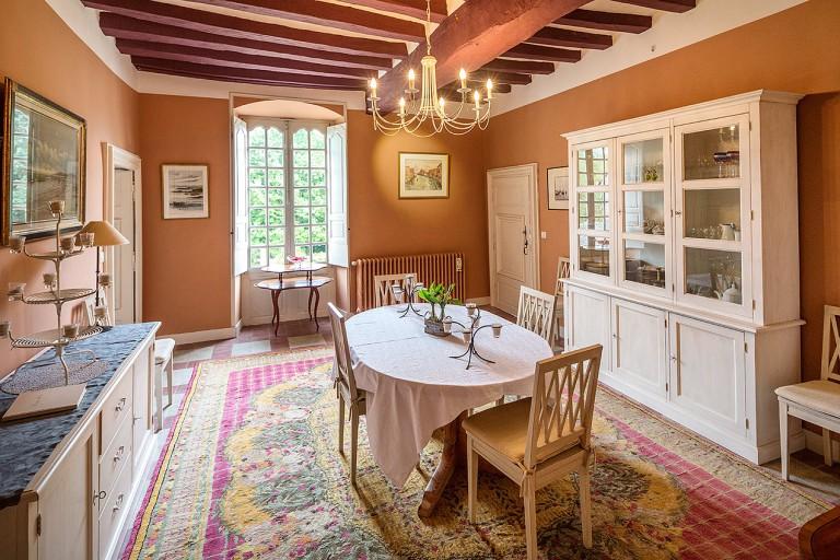 Breakfast salon at Ker Dame Marie Guesthouse, La Possoniere