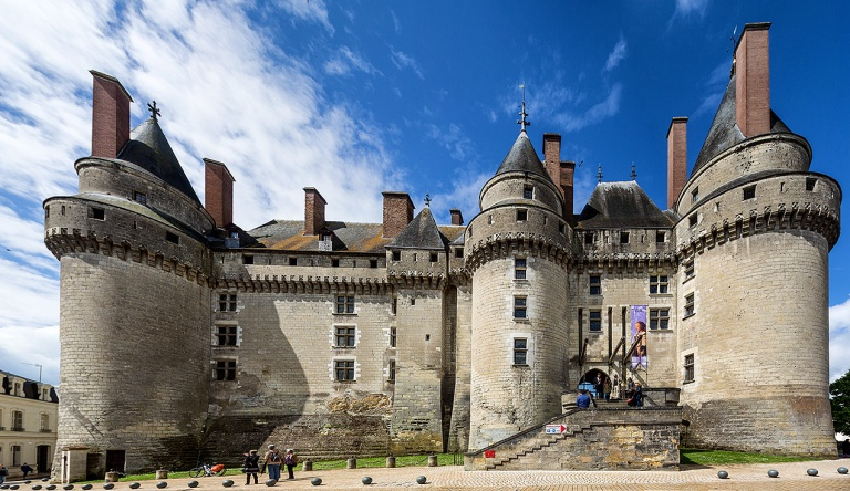 The Chateau at Langeais