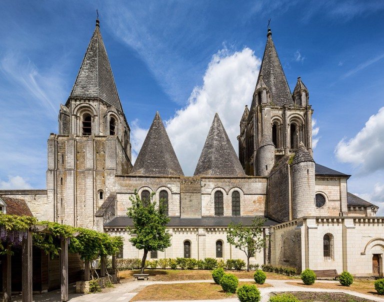 Loches, a commune in the Indre-et-Loire department in central France