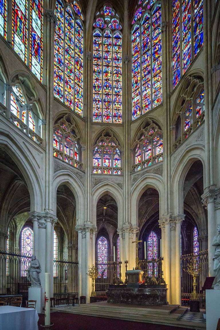 Tours Cathedral stained glass