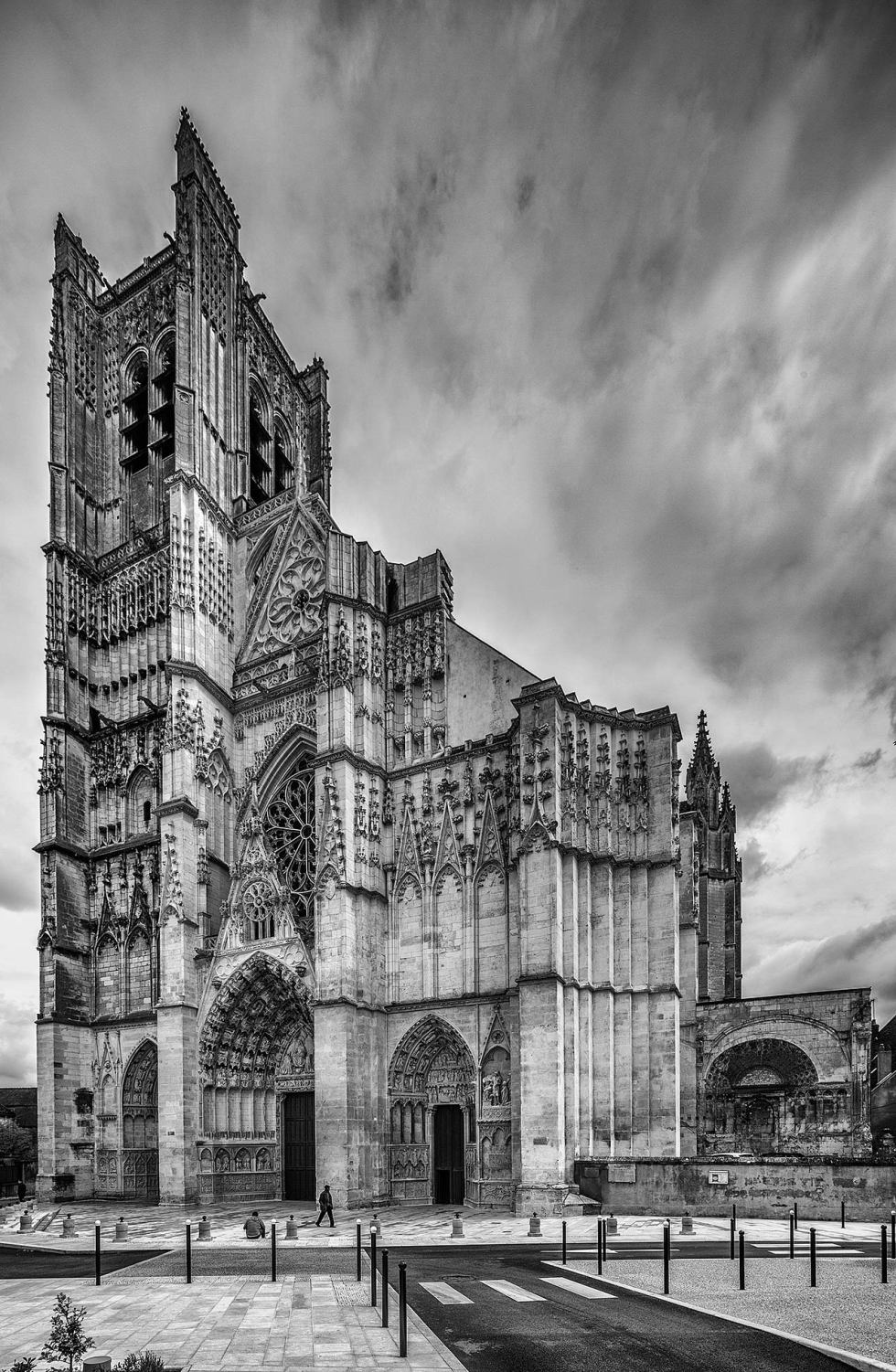 Auxerre church