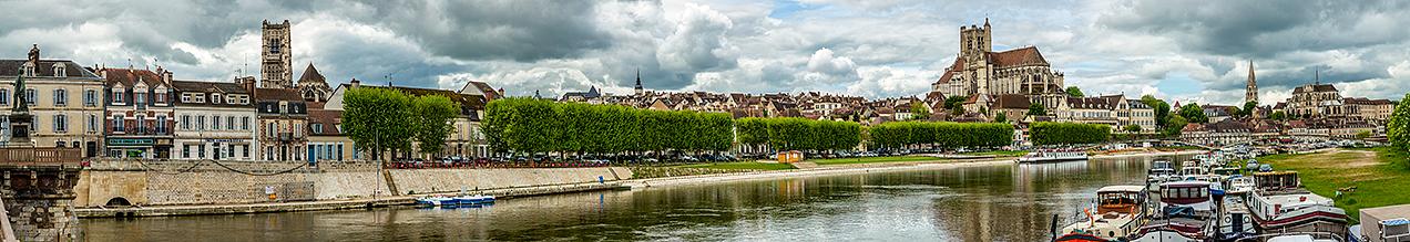 Auxerre panorama