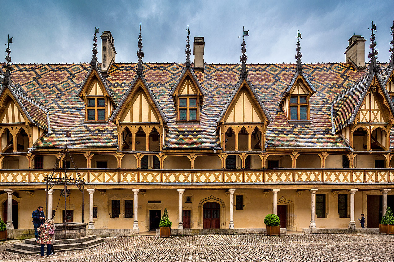 Hospices de Beaune, Beaune, Burgundy, France