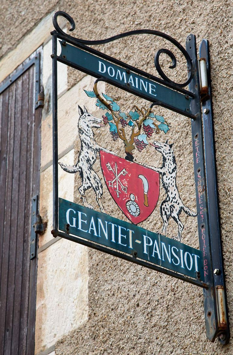 The town of Gevrey-Chambertin in Burgundy