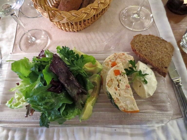 Le Restaurant Les Millésimes in Noyers-sur-Serein, Burgundy