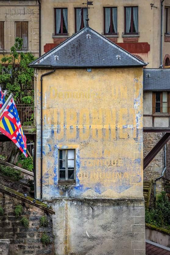 Dubonnet Sign, Semur-en-Auxois