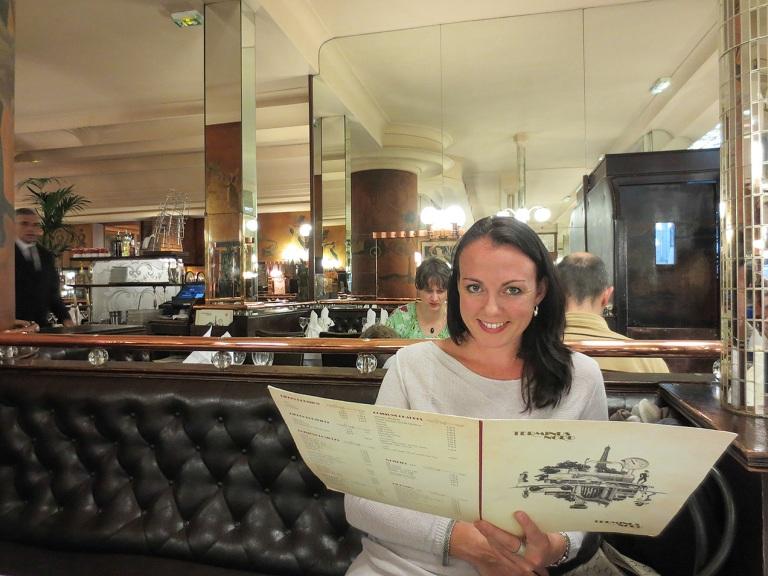 Dining in the Terminus Nord, Paris