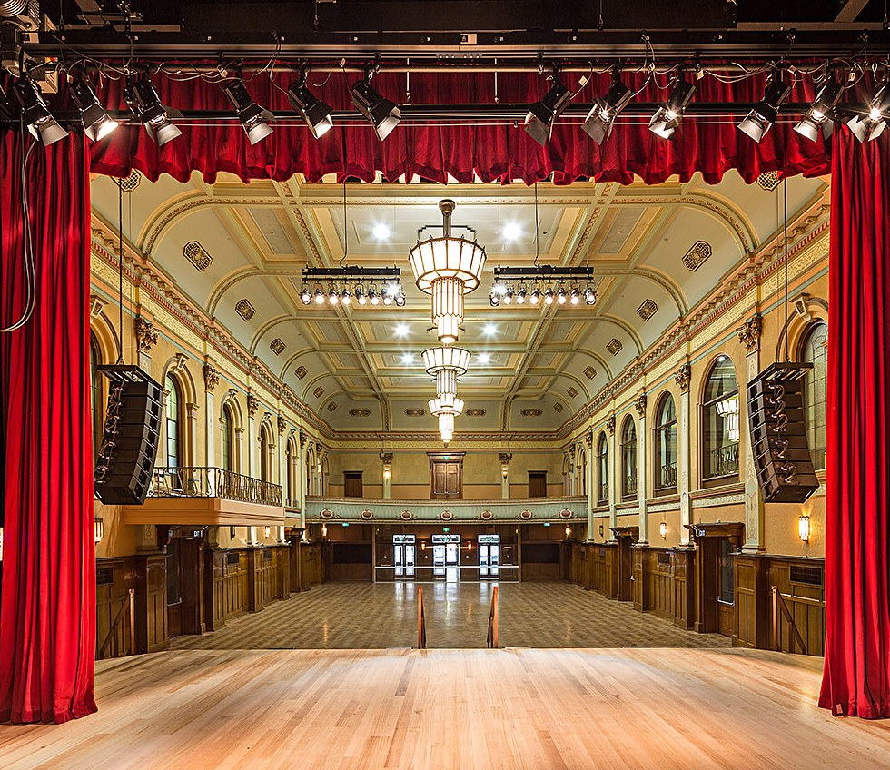 Hawthorn Arts Centre refurbishment by Peddle Thorp Architects - © Michael Evans Photographer 2013 - www.michaelevansphotographer.com