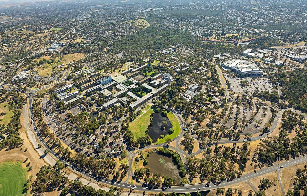 La Trobe University aerial image - © Michael Evans Photographer 2014