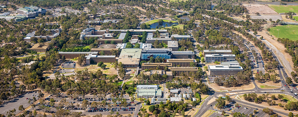 La Trobe University aerial image - © Michael Evans Photographer 2014