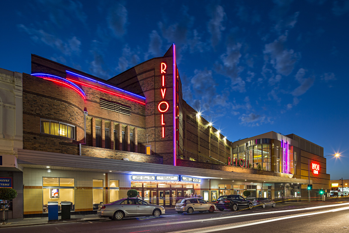 Rivoli Cinema exterior © Michael Evans Photographer 2014 - www.michaelevansphotographer.com