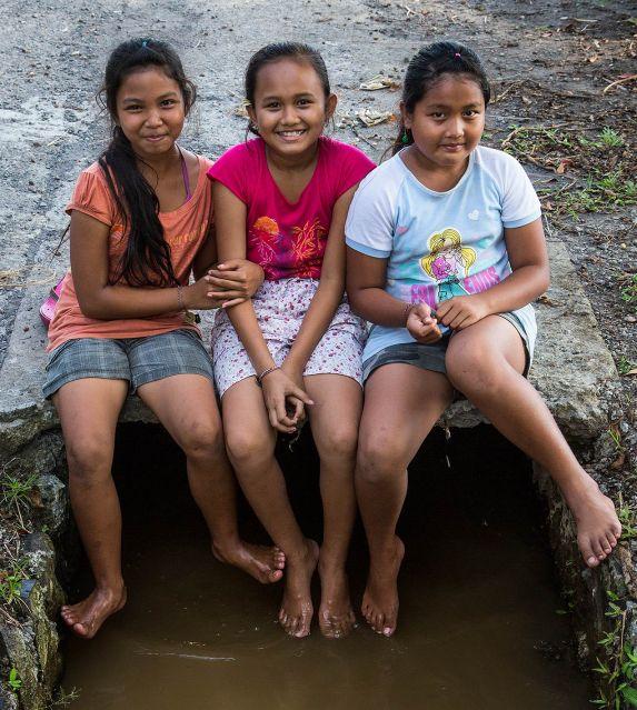 Local children, Ubud...© Michael Evans Photographer 2014 - www.michaelevansphotographer.com