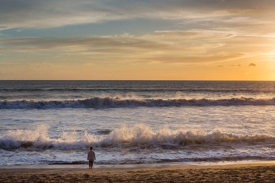 Sunset at Seminyak beach...© Michael Evans Photographer 2014 - www.michaelevansphotographer.com