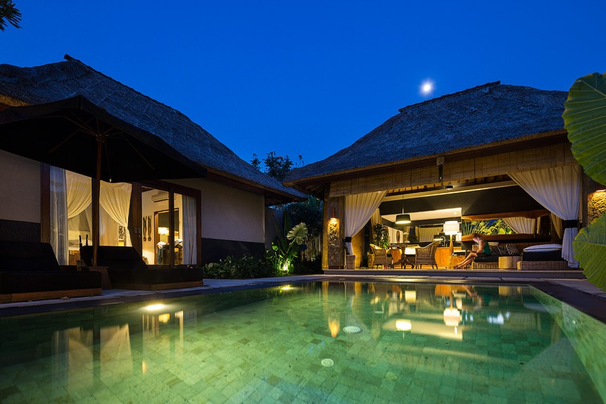 The One Boutique Villa, Seminyak, Bali - © Michael Evans Photographer 2014 - www.michaelevansphotographer.com