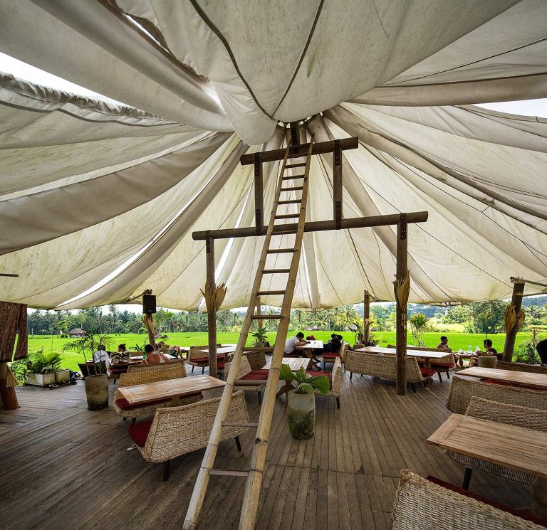 Café Pomegranate, Ubud, Bali - © Michael Evans Photographer 2014 - www.michaelevansphotographer2014