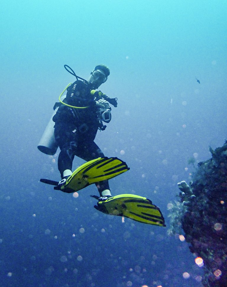 Diving the USAT Liberty wreck, Bali, Indonesia - © Michael Evans Photographer 2014 - www.michaelevansphotographer.com