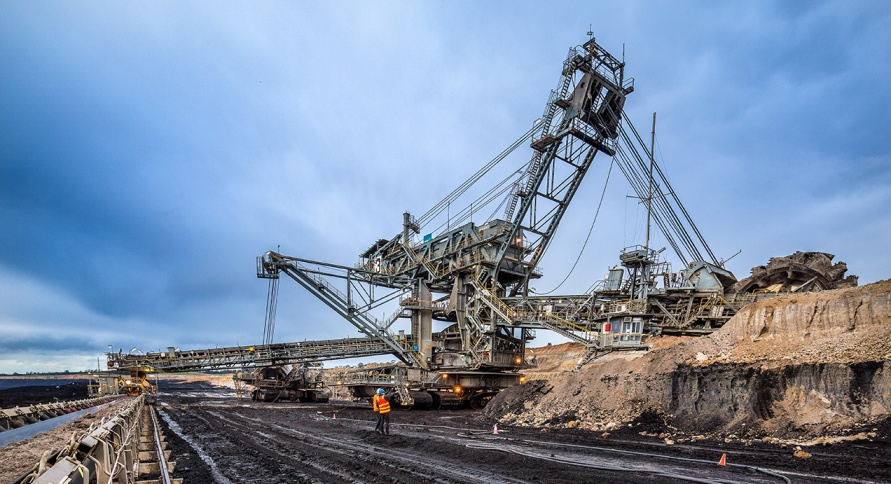 Brown Coal dredger, Loy Yang mine, Traralgon, Victoria - © Michael Evans Photographer 2014 - www.michaelevansphotographer.com
