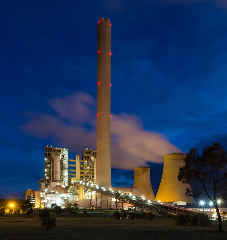 Yallourn Power Station, La Trobe Valley - © Michael Evans Photographer 2014 - www.michaelevansphotographer.com