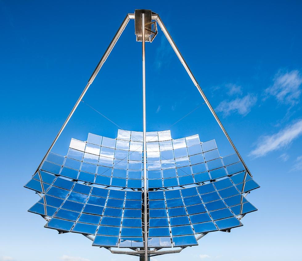 Bridgewater Solar Energy Facility, Victoria - © Michael Evans Photographer 2014 - www.michaelevansphotographer.com