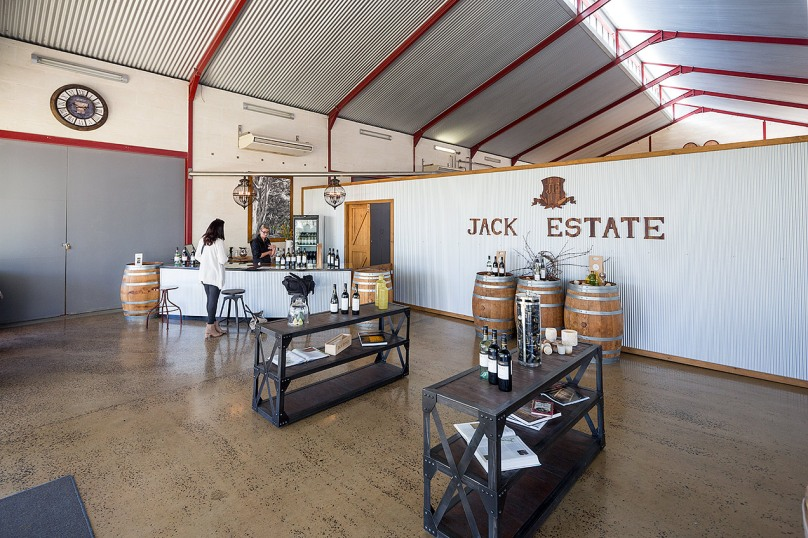 Image of Jack Estate winery - © Michael Evans Photographer 2014 - www.michaelevansphotographer.com