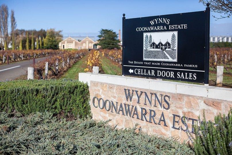 Entrance to Wynns Coonawarra - © Michael Evans 2014 - www.michaelevansphotographer.com