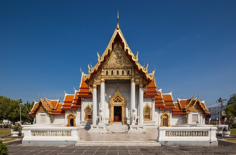 Image of the temple of Wat Benchamabophit in Bangkok - © Michael Evans Photographer 2014
