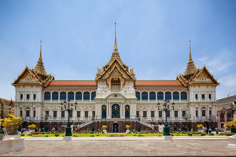 The Grand Palace in Bangkok, Thailand - © Michael Evans Photographer 2014 - www.michaelevansphotographer.com