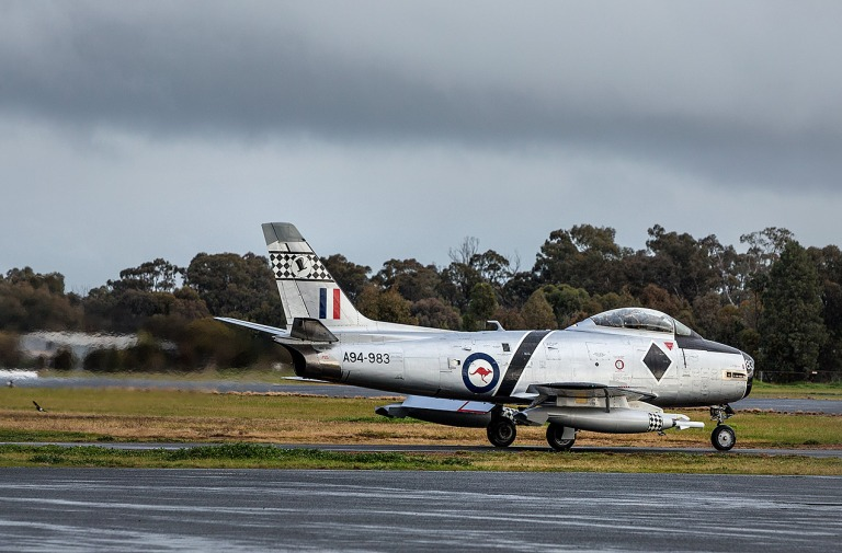 RAAF CA-27 Sabre at the Temora Aviation Museum © Michael Evans Photographer 2014 - www.michaelevansphotographer.com