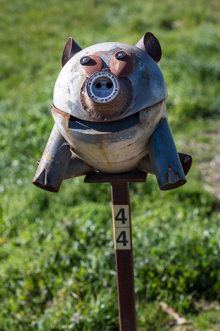 Pig letterbox © Michael Evans Photographer 2014 - www.michaelevansphotographer.com