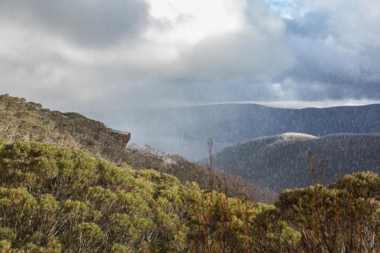 Snow storm at Mount Hotham - © Michael Evans Photographer 2014