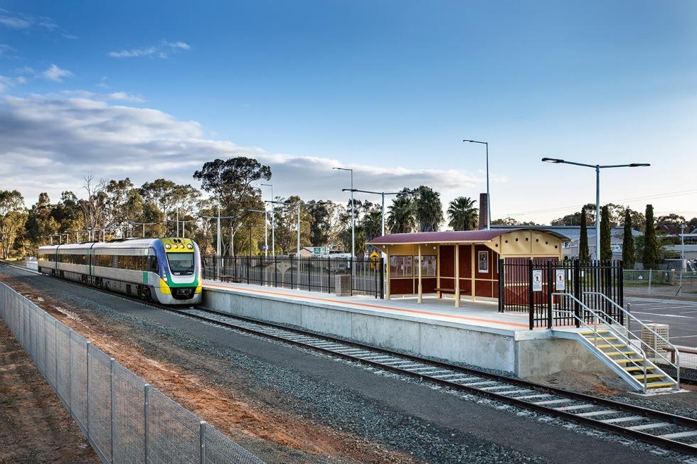 Epsom Station Bendigo for Ducon Construction © Michael Evans Photographer 2014